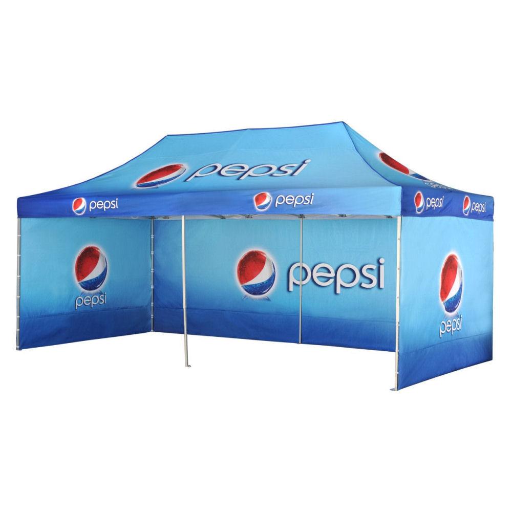 Potiskani paviljoni Pepsi